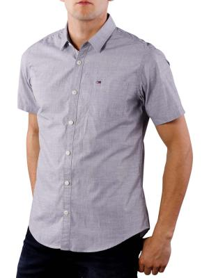 Tommy Jeans Basic Solid Shirt smoked pearl
