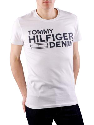 Tommy Jeans Basic Crew Neck T-Shirt classic white