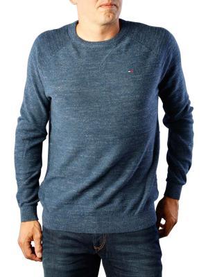 Tommy Jeans Sweater Crew Neck black iris