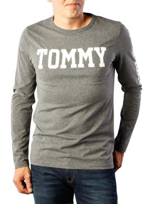 Tommy Jeans Basic Cotton T-Shirt dark grey heather