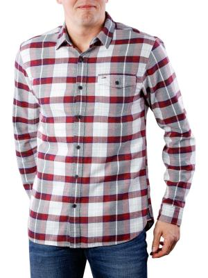 Tommy Jeans Reg Check Shirt salsa multi