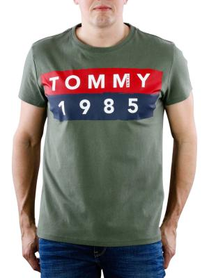 Tommy Jeans Basic Crew Neck T-Shirt thyme