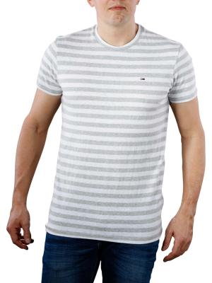 Tommy Jeans Essential Stripe T-Shirt light grey heather