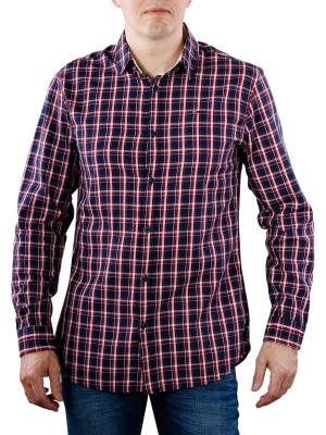 Tommy Jeans Essential Check Shirt black iris/multi