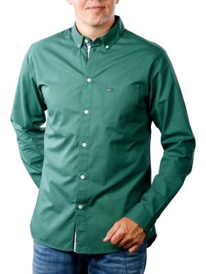 Tommy Jeans Tape Detail Shirt hunter green