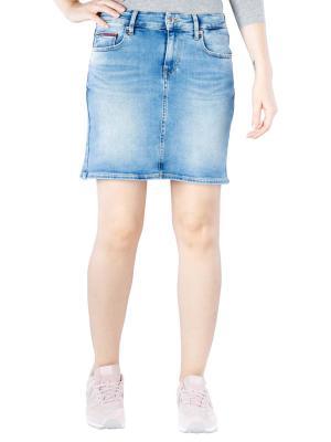 Tommy Jeans Heidi Slim Denim Skirt florida light blue
