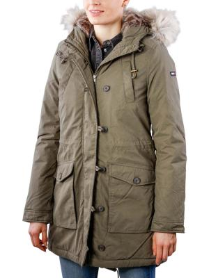 Tommy Jeans HD Parka grape leaf