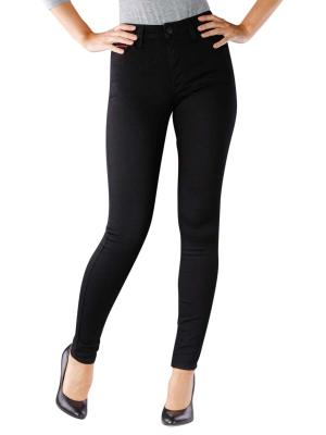 Tommy Jeans Santana High Rise dana black stretch
