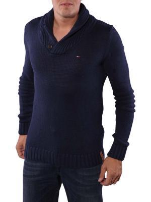Hilfiger Denim Elliot Shawl Sweater black