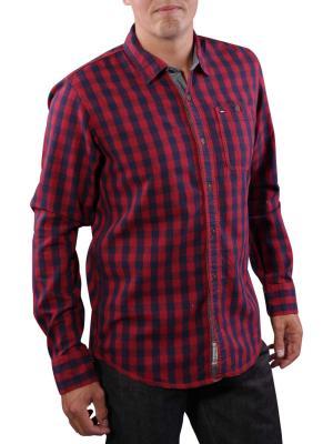 Hilfiger Denim Oric Check Shirt rhubarb
