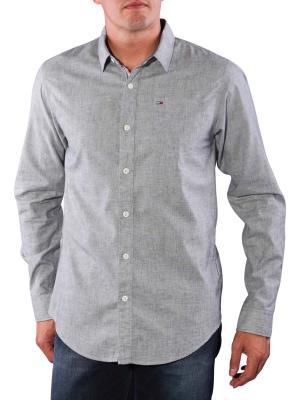 Tommy Jeans Teddy Shirt light grey htr