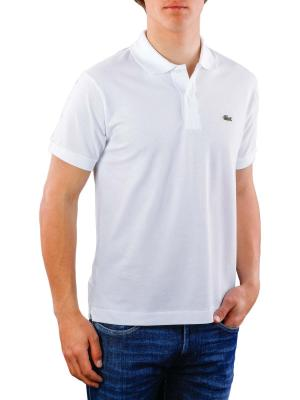 Lacoste Polo Shirt Short Sleeves blanc