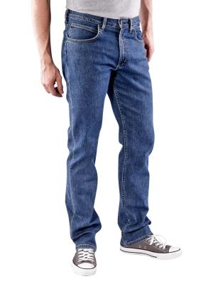 Lee Brooklyn Straight Jeans mid stonewash