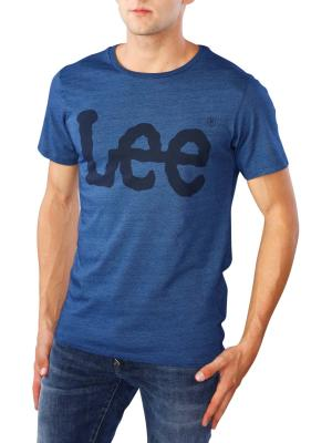 Lee Logo T-Shirt indigo