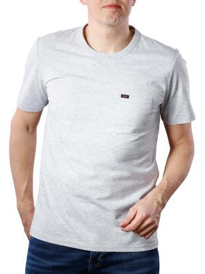 Lee Pocket T-Shirt Sharp grey mele