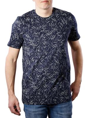Lee AOP T-Shirt navy drop