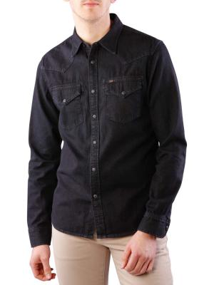 Lee Denim Shirt pitch black