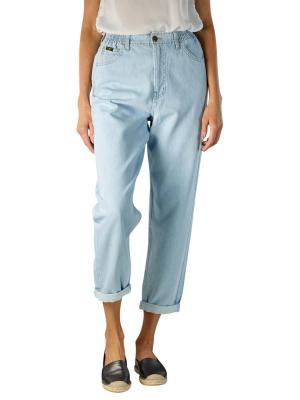 Lee Mom Jeans Elasticated bleached ore