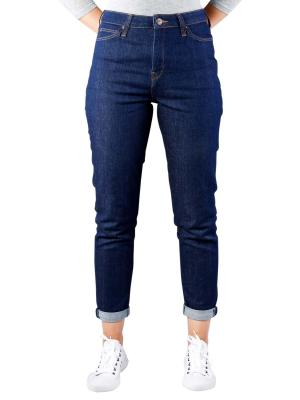 Lee Mom Jeans Stretch Tapered Fit rinse