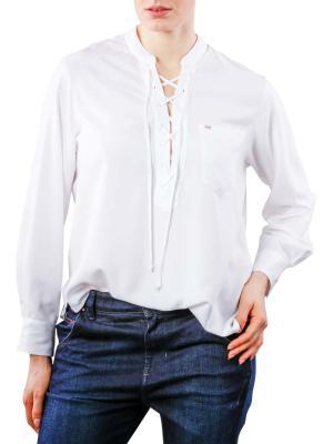 Lee Drawcord Shirt white