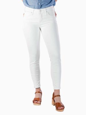 Lee Scarlett Cropped Jeans rinse