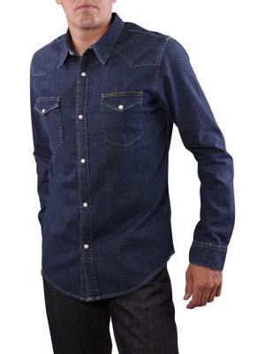 Lee Slim Western Shirt dark stone