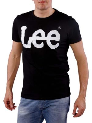 Lee Logo Tee T-Shirt black