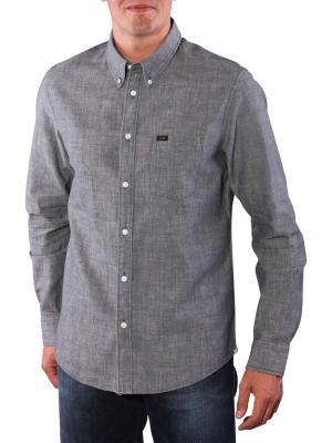 Lee Button Down Shirt stone grey