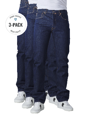 Levi's 501 Jeans Straight Fit rinse 3-Pack