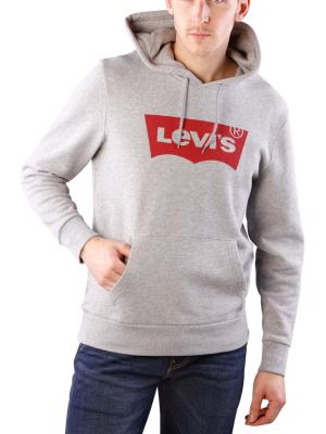 Levi's Graphic Hoodie mid grey