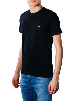 Levi's SS Original HM T-Shirt cotton patch black