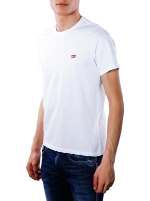 Levi's SS Original HM T-Shirt cotton patch white