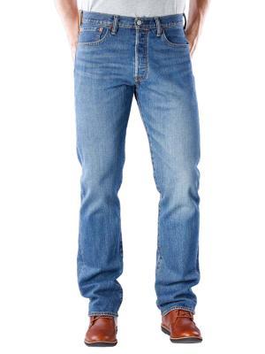 Levi's 501 Jeans purple rain stretch