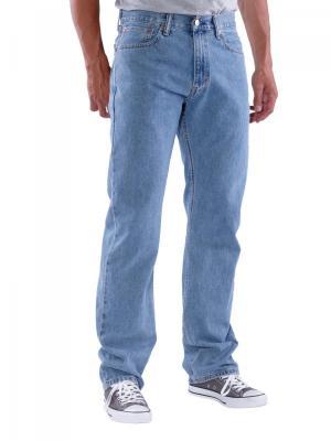 Levi's 505 Jeans light stonewash (zip)