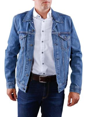 Levis The Trucker Jacket med stonewash