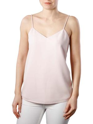 Maison Scotch Woven Jersey Top desert pink