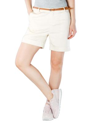 Maison Scotch Longer Length Chino Shorts antique white