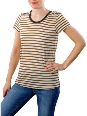 Maison Scotch Basic T-Shirt Striped combo b