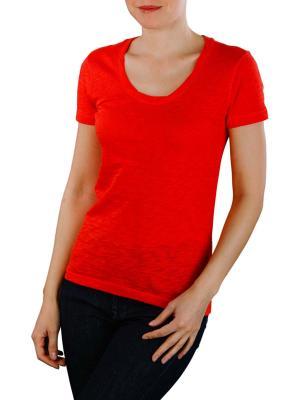 Marc O'Polo Short Sleeve T-Shirt strong scarlet