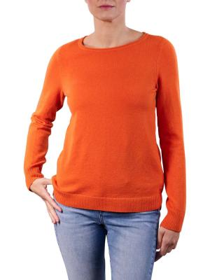 Marc O'Polo Pullover Longsleeve Round Neck pumpkin orange