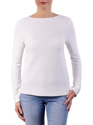 Marc O'Polo Pullover Longsleeve Boat Neck off white