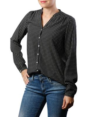 Marc O'Polo Blouse Crew Open Slit combo