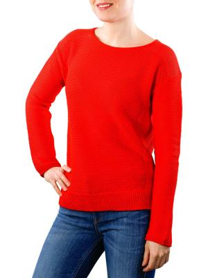 Marc O'Polo Pullover strong scarlet