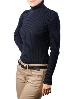 Marc O'Polo Pullover Long Sleeves Turtle Neck midnight blue
