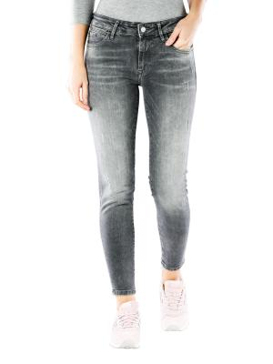 Mavi Adriana Ankle Jeans Skinny dark grey distressed