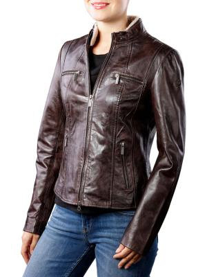 Milestone Caja Jacket dark brown