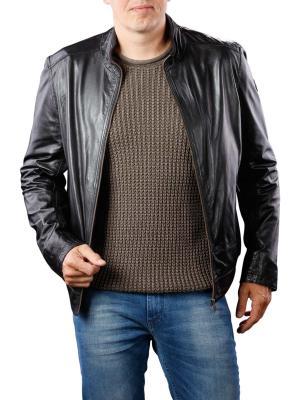 Milestone Lucius Jacket Leather black