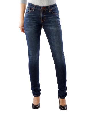 Nudie Jeans Skinny Lin dark blue authentic