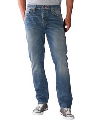 Nudie Jeans Steady Eddie organic blue water