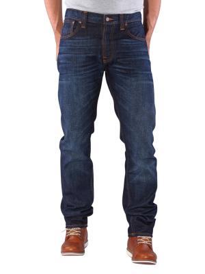 Nudie Jeans Steady Eddie orange crinkle